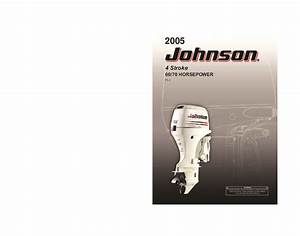 2005 Johnson 60 70 Hp Pl4 4