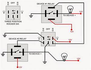 Single Pole Contactor Relay Wiring Diagram 240v