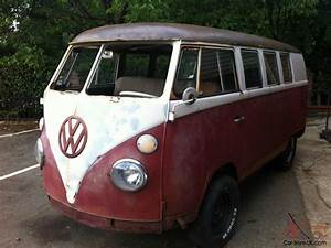 Vw Splitscreen Kombi 1966 11 Window Camper Bus Van Solid