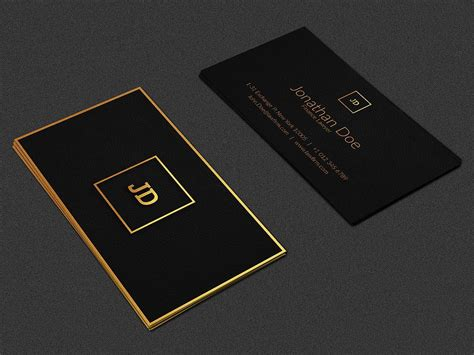 luxury business card  images luxury business cards