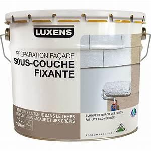 Primaire D Accrochage Exterieur : sous couche fa ade luxens blanc gris 10 l leroy merlin ~ Premium-room.com Idées de Décoration