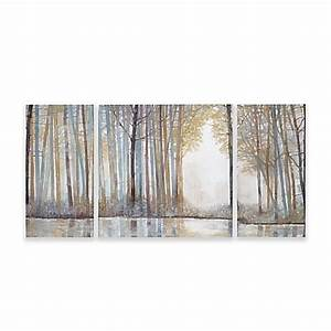 madison park forest reflections gel coated canvas wall art With best brand of paint for kitchen cabinets with madison park wall art