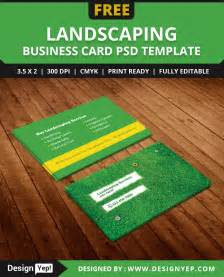 Landscaping Business Cards Templates Free