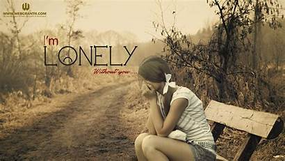 Alone Leave Wallpapers Sad Cool