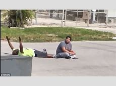 Unarmed Florida therapist with hands up shot by police