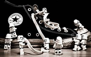 Lego stormtroopers shoes Converse monochrome Lego Star ...