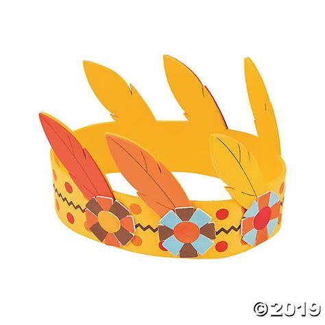 Crown King Mahkota Raja Bandana feather crown craft kit