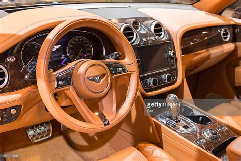 bentley suv bentley bentayga luxury suv interior stock photo getty