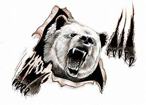 Bear design by ~ReedmooleyTattoos on deviantART | Refs ...