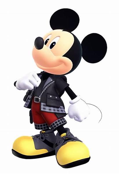 Mickey Hearts Kingdom Mouse Disney Iii King
