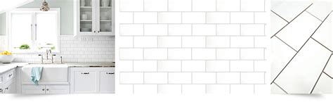 ba white  ceramic tile backsplashcom