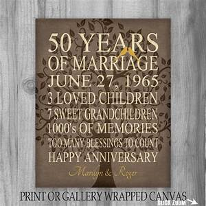 50th anniversary gift keepsake important events the With 50 year wedding anniversary gift