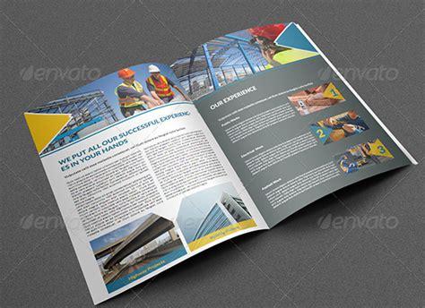 Construction Brochure Design Pdf by 10 Exquisite Construction Buildings Brochure Templates