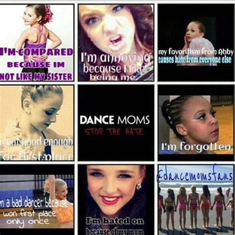 dance moms quotes to live by