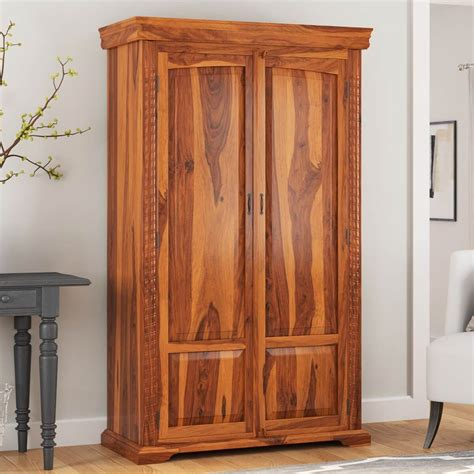 empire traditional solid hardwood rustic bedroom armoire