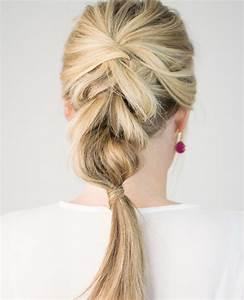 Tresse Facile à Faire Soi Même : coiffure facile a faire soi meme pour cheveux mi long modele de coiffure a faire soi meme ~ Melissatoandfro.com Idées de Décoration