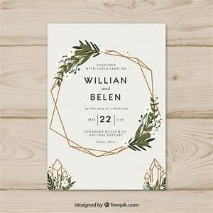 wedding vectors photos and psd files free download With wedding invitation template freepik