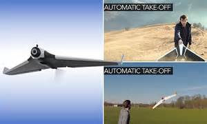 parrot disco stealth drone   launch  throwing  daily mail