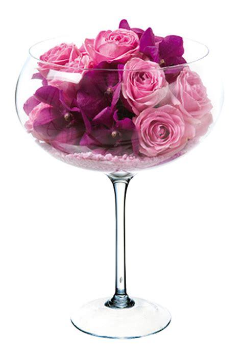 vase dolce vita coupe sur pied g 233 ant d 233 coration de table