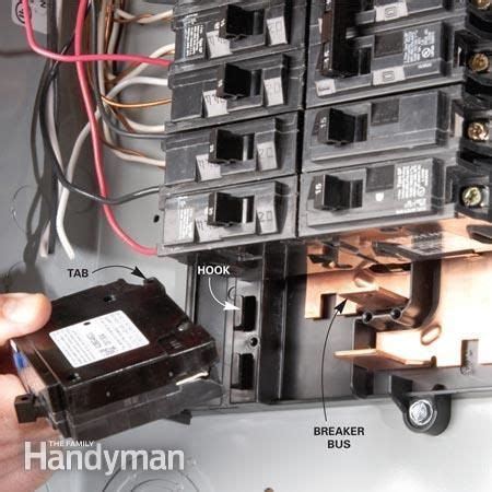 Home Electrical Wiring Circuit Box by Breaker Box Safety How To Connect A New Circuit Home