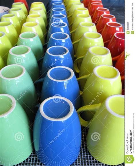 colourful mugs stock of tableware ceramics 36308031