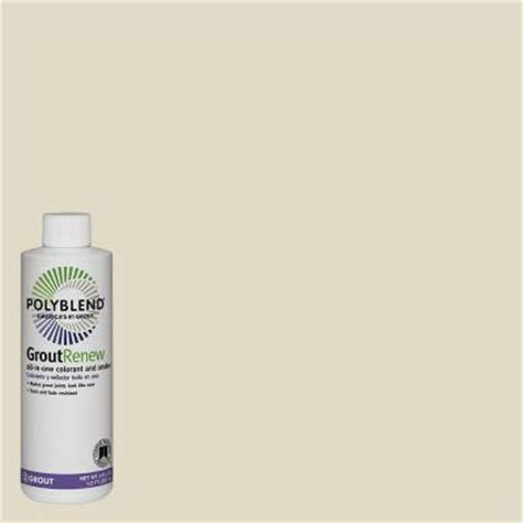 alabaster grout custom building products polyblend 333 alabaster 8 fl oz grout renew colorant gcl333hpt the