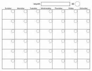 printable blank monthly calendar activity shelter With win calendar templates