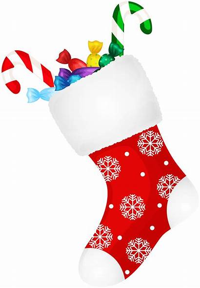 Stocking Clip Clipart Transparent Candy Candies Socks