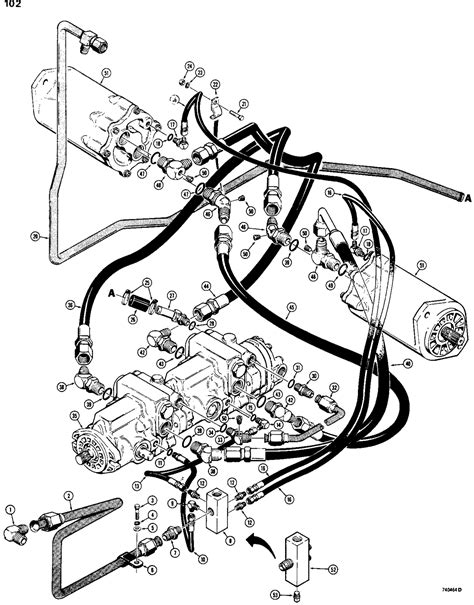 763 Bobcat Hydraulic Diagram by Bobcat 763 Hydraulic Hose Schematic Wiring Diagram Database