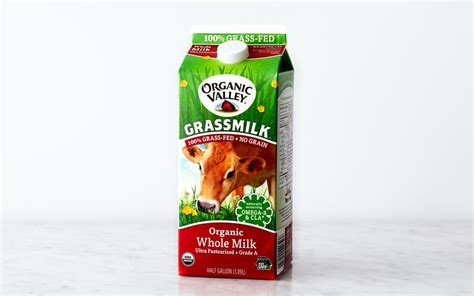 Certifiably delicious milk produced by happy, healthy cows free to graze on organic pastures and fed a diet that is free from grain & corn. Organic Grass-Fed Whole Milk - Organic Valley - SF Bay ...