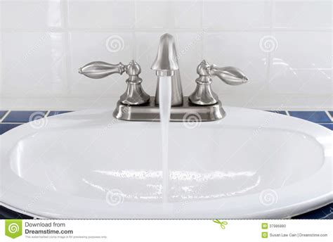 kitchen faucet prices sink with running water stock photo image 37986880