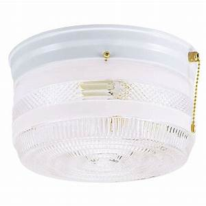 Outdoor ceiling light with pull chain : Westinghouse light ceiling fixture white interior flush