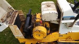 1973 Cub Cadet 149 And Mower Deck - Tractors