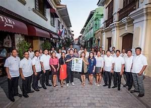 Manila Hotel Organizational Chart Lgu Vigan Conferred With Sglg 2018 Vigan City