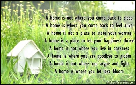 Congratulations Poems For New Home