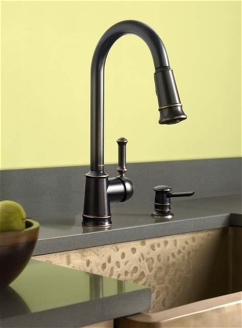 Moen Lindley Faucet Bronze by 17 Best Images About Kitchen Faucets On Chrome