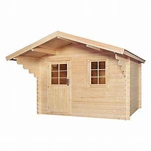 Bauhaus Wandverkleidung Holz : blockbohlenhaus stockholm holz grundfl che 7 5 m ~ Michelbontemps.com Haus und Dekorationen