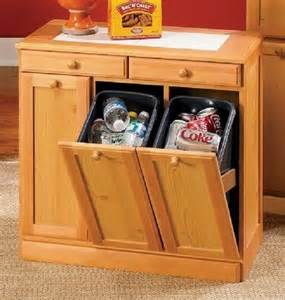 overstock kitchen islands 3 bin recycling cabinet from seventh avenue 169 99