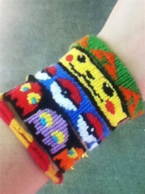 unique friendship bracelets pokemon zelda harry potter