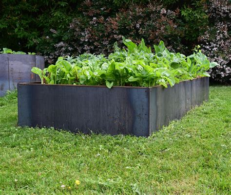 corten steel planters planter llc metal planter boxes from corten steel