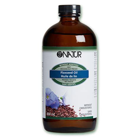 Natur Huile de lin Source d acides gras polyinsaturés oméga 3
