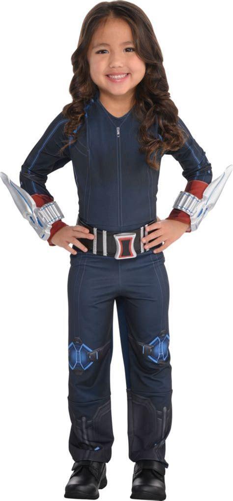 Girls Small Black Widow Costume Avengers Age Of Ultron