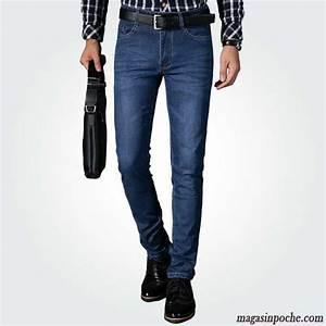 Vetement Travail Pas Cher : pantalon cigarette homme homme pantalon jeans extensible ~ Edinachiropracticcenter.com Idées de Décoration