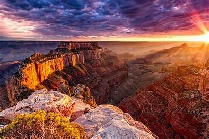 Canyon Grand Sunset National Arizona Zmr Az