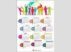 Kostenlose Kalendervorlagen 2018 OfficeLernencom