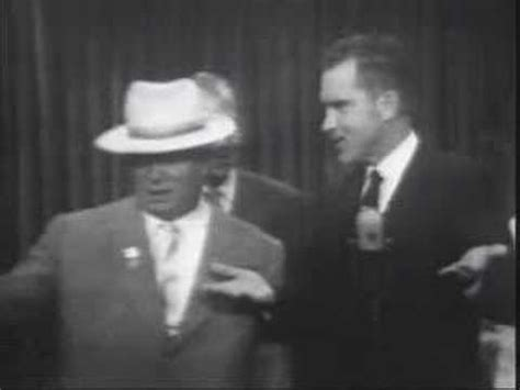Nixon & Khrushchev At Kitchen Debate Excerpt From. Open Plan Living Room Design Ideas. Ruffled Living Room Curtains. Very Small Living Room And Dining Room. Living Room Hotel 4* Vagator