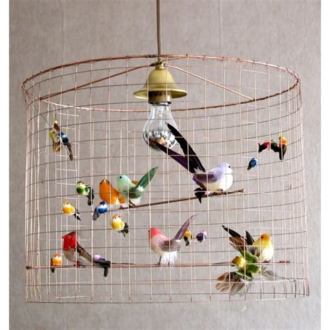 ceiling pendant light bird cage l birdie birdie