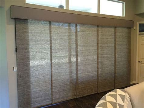 custom sliding panels  patio doors operates