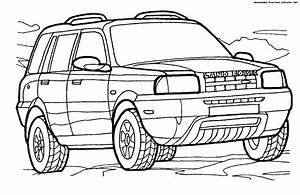 range rover coloring pages sketch coloring page With land rover 4x4