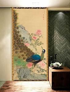 Peinture Sur Papier Peint Existant : 8 best papier peint japonais issu de la peinture japonaise ~ Dailycaller-alerts.com Idées de Décoration